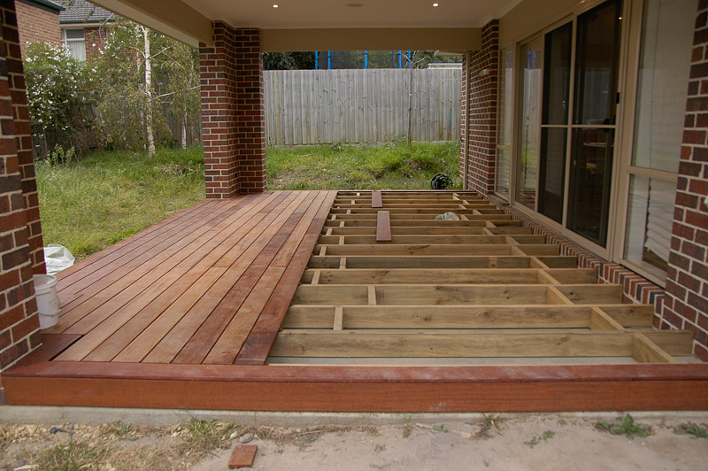 View topic can u deck over existing concrete slab Building a deck