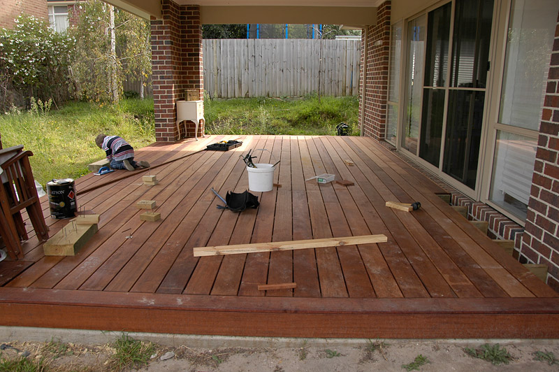 View Topic Timber Decking Which Way Do Your Boards Go